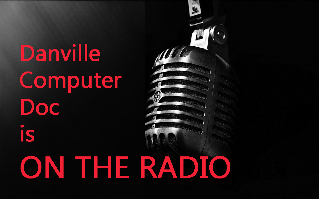 Danville Computer Doc on the Charlie Perry Radio Show!